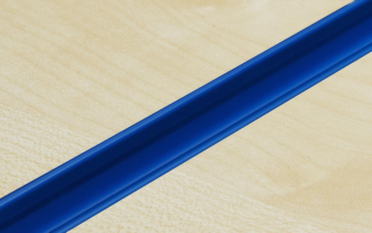 Blue PVC Slatwall Inserts