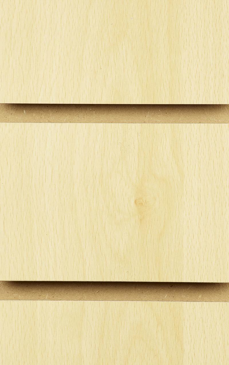 Wood Effect Slatwall Panels 1200MM X 1200MM Burnham