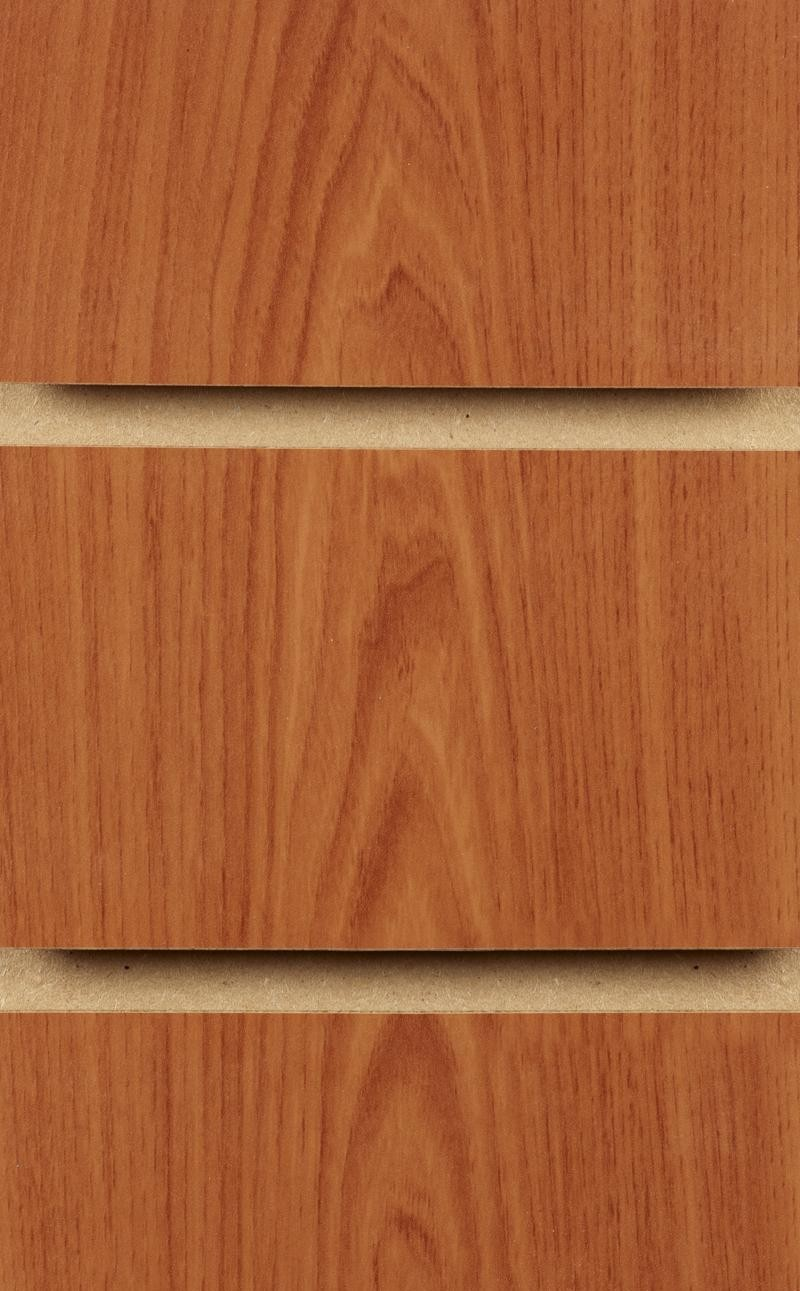 Wood Effect Slatwall Panels 2400MM X 1200MM Cherry