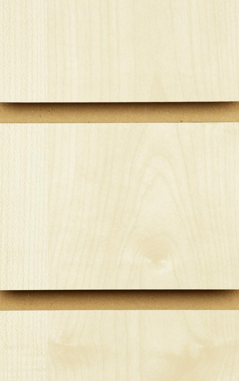 Wood Effect Slatwall Panels 1200MM X 1200MM Maple