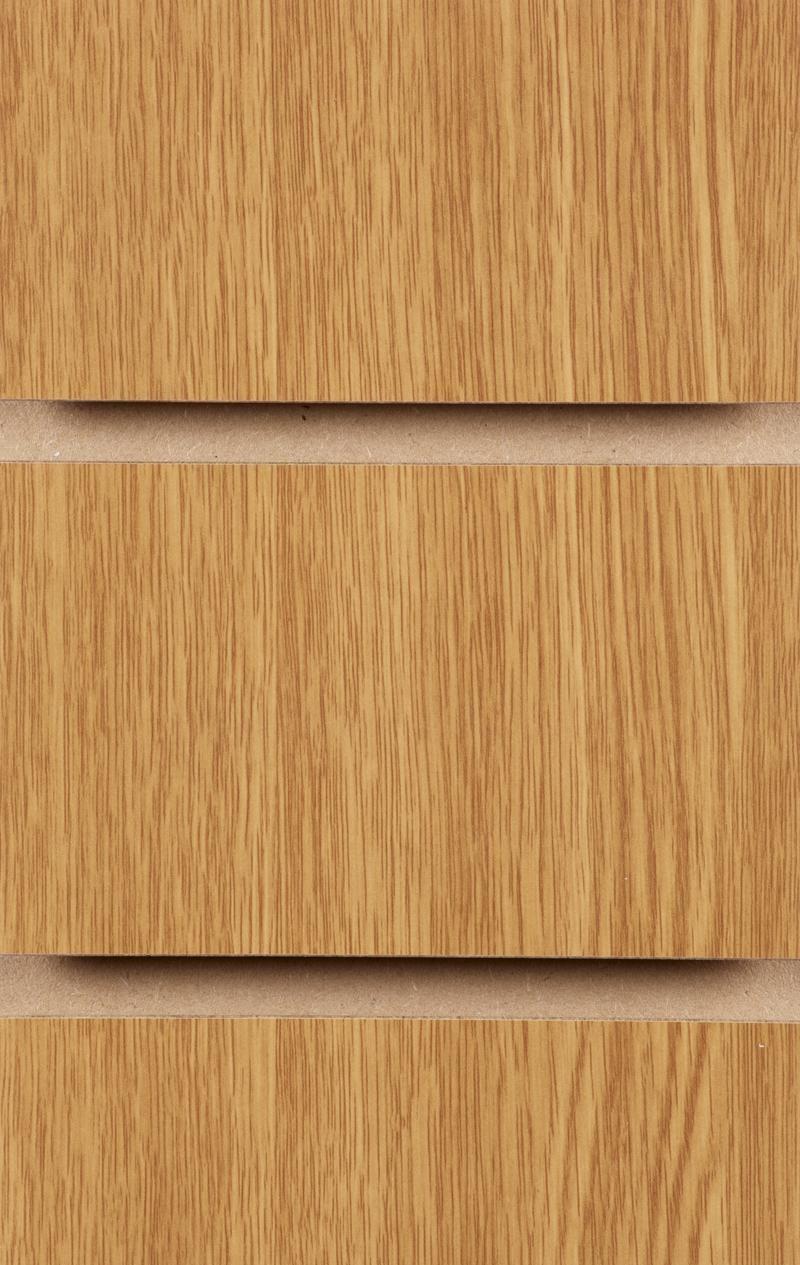 Wood Effect Slatwall Panels 1200MM X 1200MM Oak