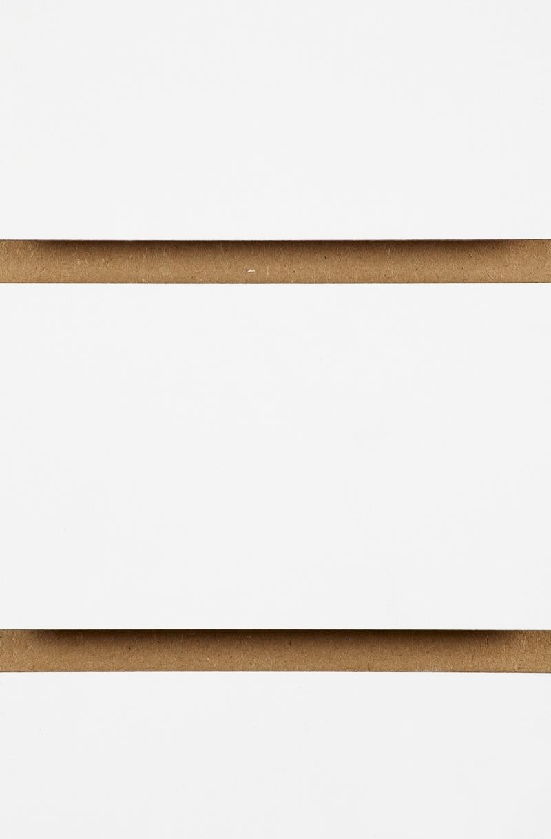 Plain Slatwall Panels 2400mm x 1200mm White