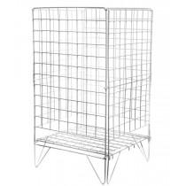 "Wire Dump Bin Basket 16"" Square"