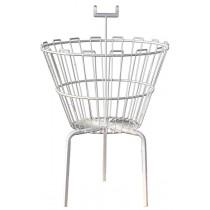 """21"""" Wire Dump Bin Basket Round"""