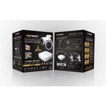 SPRO 4 Channel 3MP IP 1TB CCTV Kit with 2 Bullet Cameras