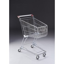 60 Litre Shopping Trolley with 75mm diameter castors
