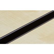 Black PVC Slatwall Inserts