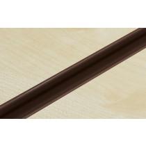 Brown PVC Slatwall Inserts