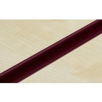 Burgundy PVC Slatwall Inserts