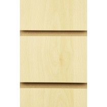 Wood Effect Slatwall Panels 2400MM X 1200MM Burnham