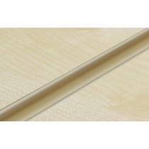 Cream PVC Slatwall Inserts