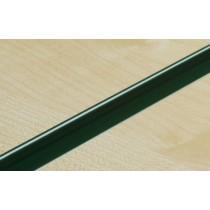 Dark Green PVC Slatwall Inserts