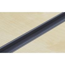 Dark Grey PVC Slatwall Inserts