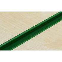 Green PVC Slatwall Inserts
