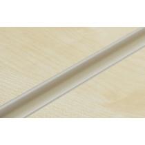 Ivory PVC Slatwall Inserts