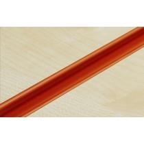 Orange PVC Slatwall Inserts