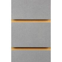 Wood Effect Slatwall Panels 2400MM X 1200MM Pewter