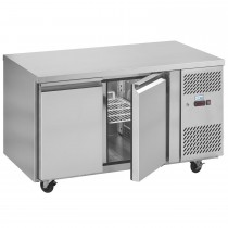Interlevin PH20F Stainless Steel Gastronorm Counter Freezer