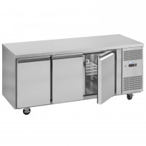 Interlevin PH30F Stainless Steel Gastronorm Counter Freezer
