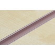 Pink PVC Slatwall Inserts