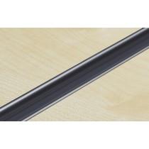 Silver PVC Slatwall Inserts