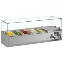 Interlevin VRX1200/330 Stainless Steel Gastronorm Topping Shelf