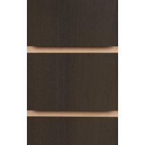 Wood Effect Slatwall Panels 2400MM X 1200MM Walnut