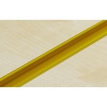 Yellow PVC Slatwall Inserts