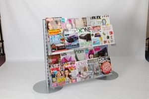 2 X 2 Tier Magazine Shelves for Starter Bay