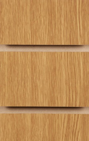 Wood Effect Slatwall Panels 2400MM X 1200MM Oak