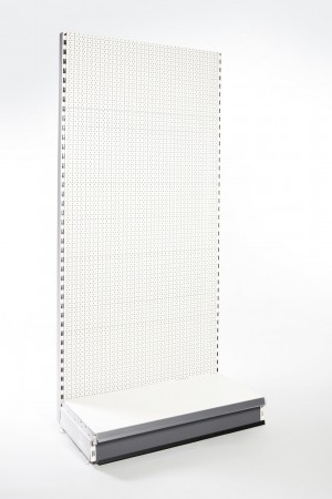 Evolve S50i Wall Bay with Perforated Panels