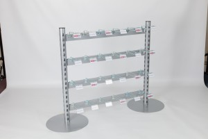 Set Of Four Tier Bag Hook System for Q-Systems